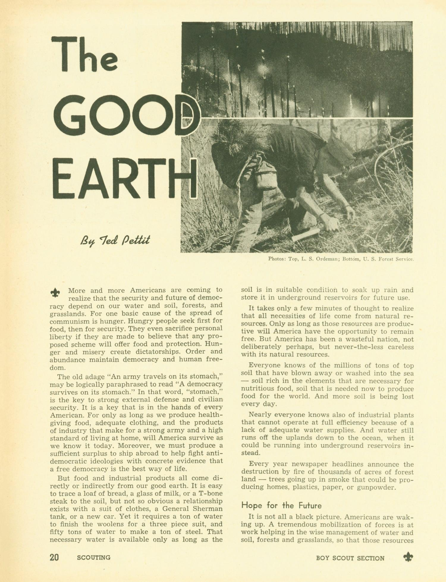 Scouting, Volume 38, Number 10, December 1950                                                                                                      20
