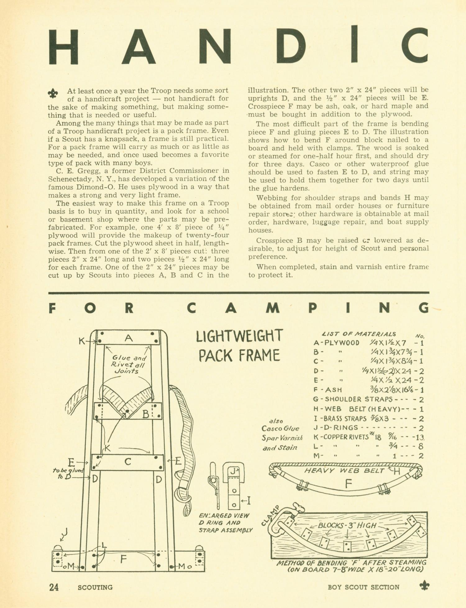 Scouting, Volume 38, Number 10, December 1950                                                                                                      24