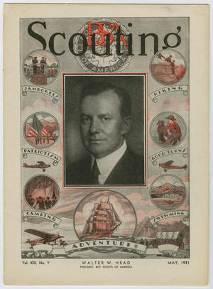 Primary view of object titled 'Scouting, Volume 19, Number 5, May 1931'.
