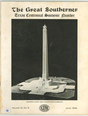 Primary view of object titled 'The Great Southerner, Volume 15, Number 9, June 1936'.