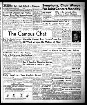 Primary view of object titled 'The Campus Chat (Denton, Tex.), Vol. 35, No. 9, Ed. 1 Friday, October 19, 1951'.