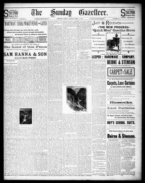 Primary view of The Sunday Gazetteer. (Denison, Tex.), Vol. 10, No. 19, Ed. 1 Sunday, September 6, 1891