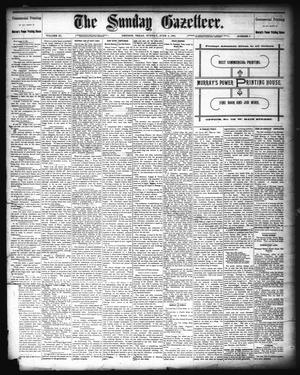 Primary view of object titled 'The Sunday Gazetteer. (Denison, Tex.), Vol. 11, No. 6, Ed. 1 Sunday, June 5, 1892'.