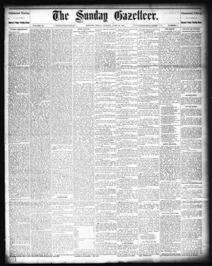 Primary view of object titled 'The Sunday Gazetteer. (Denison, Tex.), Vol. 11, No. 9, Ed. 1 Sunday, June 26, 1892'.