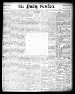 Primary view of object titled 'The Sunday Gazetteer. (Denison, Tex.), Vol. 11, No. 12, Ed. 1 Sunday, July 17, 1892'.