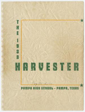 Primary view of object titled 'Harvester, Yearbook of Pampa High School, Volume 9, 1938'.