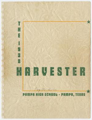 Harvester, Yearbook of Pampa High School, Volume 9, 1938