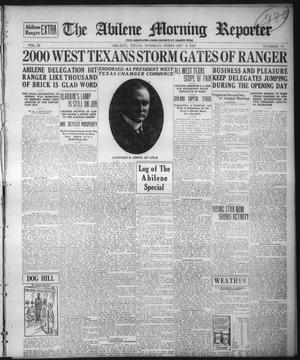 Primary view of object titled 'The Abilene Morning Reporter (Abilene, Tex.), Vol. 34, No. 71, Ed. 1 Tuesday, February 8, 1921'.