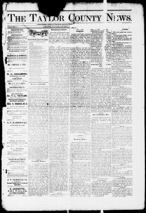 Primary view of object titled 'The Taylor County News. (Abilene, Tex.), Vol. 1, No. 3, Ed. 1 Friday, April 3, 1885'.