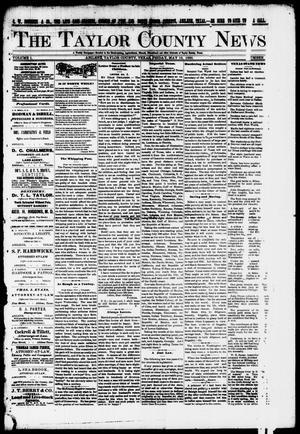 Primary view of object titled 'The Taylor County News. (Abilene, Tex.), Vol. 1, No. 9, Ed. 1 Friday, May 15, 1885'.