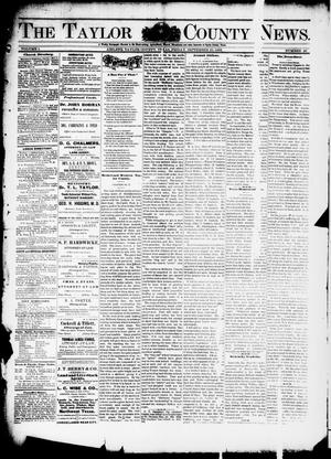 Primary view of object titled 'The Taylor County News. (Abilene, Tex.), Vol. 1, No. 28, Ed. 1 Friday, September 25, 1885'.