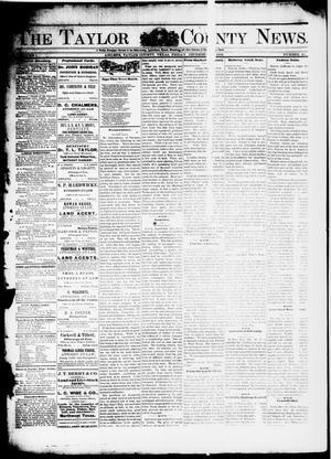Primary view of object titled 'The Taylor County News. (Abilene, Tex.), Vol. 1, No. 40, Ed. 1 Friday, December 18, 1885'.