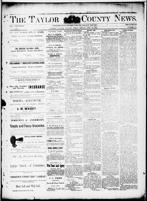 Primary view of object titled 'The Taylor County News. (Abilene, Tex.), Vol. 8, No. 39, Ed. 1 Friday, November 18, 1892'.