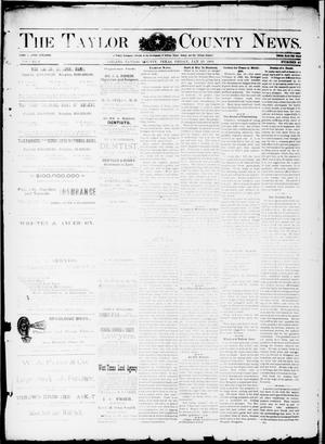Primary view of object titled 'The Taylor County News. (Abilene, Tex.), Vol. 8, No. 48, Ed. 1 Friday, January 20, 1893'.