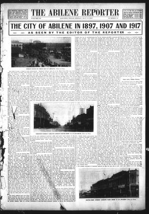 Primary view of object titled 'The Abilene Reporter (Abilene, Tex.), Vol. 28, No. 22, Ed. 1 Friday, May 31, 1907'.