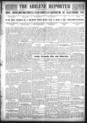 Primary view of object titled 'The Abilene Reporter (Abilene, Tex.), Vol. 28, No. 27, Ed. 1 Friday, July 5, 1907'.