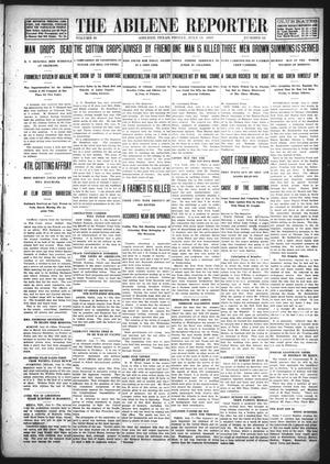 Primary view of object titled 'The Abilene Reporter (Abilene, Tex.), Vol. 28, No. 28, Ed. 1 Friday, July 12, 1907'.