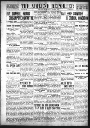 Primary view of object titled 'The Abilene Reporter (Abilene, Tex.), Vol. 28, No. 29, Ed. 1 Friday, July 19, 1907'.
