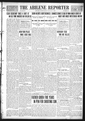 Primary view of object titled 'The Abilene Reporter (Abilene, Tex.), Vol. 28, No. 31, Ed. 1 Friday, August 2, 1907'.