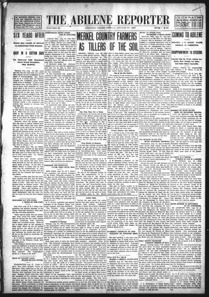 Primary view of object titled 'The Abilene Reporter (Abilene, Tex.), Vol. 28, No. 34, Ed. 1 Friday, August 23, 1907'.