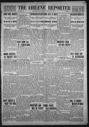 Primary view of object titled 'The Abilene Reporter (Abilene, Tex.), Vol. 29, No. 5, Ed. 1 Friday, February 7, 1908'.