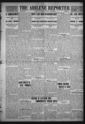 Primary view of object titled 'The Abilene Reporter (Abilene, Tex.), Vol. 29, No. 22, Ed. 1 Friday, June 5, 1908'.