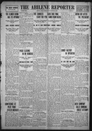 Primary view of object titled 'The Abilene Reporter (Abilene, Tex.), Vol. 29, No. 40, Ed. 1 Friday, October 16, 1908'.