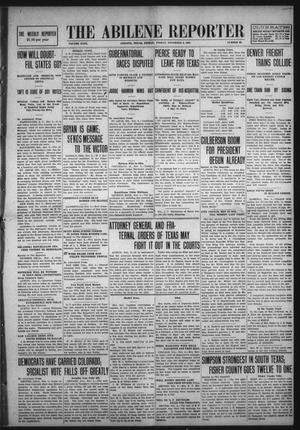 Primary view of object titled 'The Abilene Reporter (Abilene, Tex.), Vol. 29, No. 43, Ed. 1 Friday, November 6, 1908'.