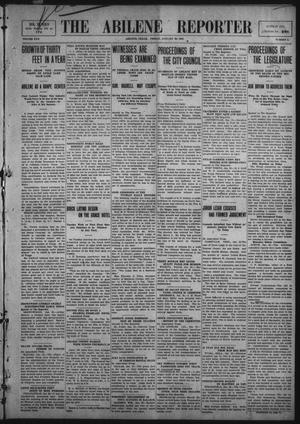 Primary view of object titled 'The Abilene Reporter (Abilene, Tex.), Vol. 30, No. 5, Ed. 1 Friday, January 29, 1909'.