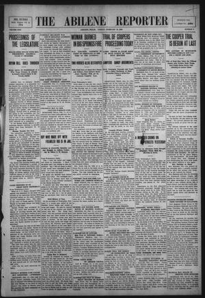 Primary view of object titled 'The Abilene Reporter (Abilene, Tex.), Vol. 30, No. 8, Ed. 1 Friday, February 19, 1909'.