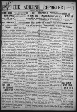 Primary view of object titled 'The Abilene Reporter (Abilene, Tex.), Vol. 30, No. 10, Ed. 1 Friday, March 5, 1909'.
