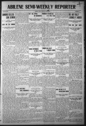 Primary view of object titled 'Abilene Semi-Weekly Reporter (Abilene, Tex.), Vol. 31, No. 51, Ed. 1 Tuesday, June 6, 1911'.