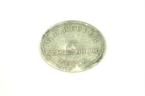 Primary view of object titled '[$1.00 Merchandise Token]'.