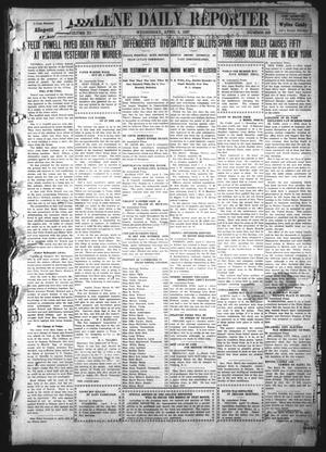 Primary view of object titled 'Abilene Daily Reporter (Abilene, Tex.), Vol. 11, No. 229, Ed. 1 Wednesday, April 3, 1907'.