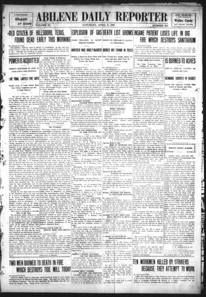 Abilene Daily Reporter (Abilene, Tex.), Vol. 11, No. 232, Ed. 1 Saturday, April 6, 1907