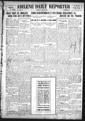 Primary view of object titled 'Abilene Daily Reporter (Abilene, Tex.), Vol. 11, No. 257, Ed. 1 Monday, May 6, 1907'.