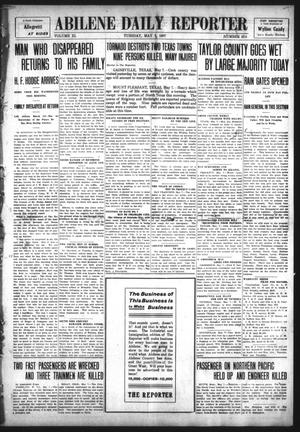 Primary view of object titled 'Abilene Daily Reporter (Abilene, Tex.), Vol. 11, No. 258, Ed. 1 Tuesday, May 7, 1907'.
