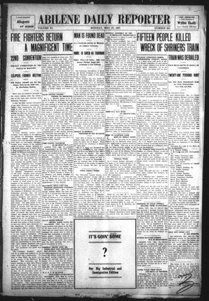 Primary view of object titled 'Abilene Daily Reporter (Abilene, Tex.), Vol. 11, No. 263, Ed. 1 Monday, May 13, 1907'.