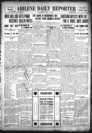 Primary view of object titled 'Abilene Daily Reporter (Abilene, Tex.), Vol. 11, No. 266, Ed. 1 Thursday, May 16, 1907'.