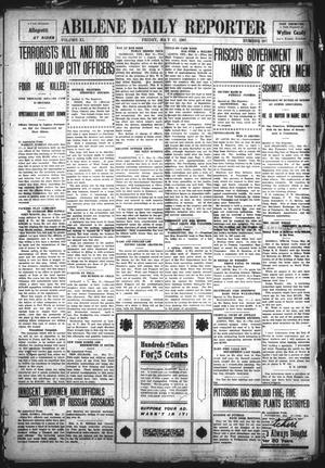 Primary view of object titled 'Abilene Daily Reporter (Abilene, Tex.), Vol. 11, No. 267, Ed. 1 Friday, May 17, 1907'.