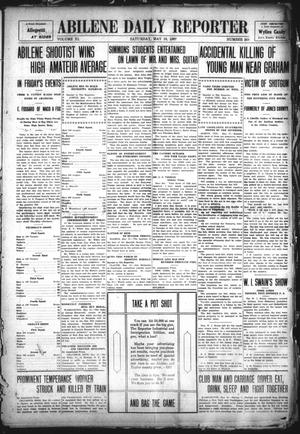Primary view of object titled 'Abilene Daily Reporter (Abilene, Tex.), Vol. 11, No. 268, Ed. 1 Saturday, May 18, 1907'.