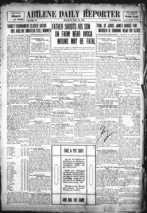 Primary view of object titled 'Abilene Daily Reporter (Abilene, Tex.), Vol. 11, No. 269, Ed. 1 Monday, May 20, 1907'.
