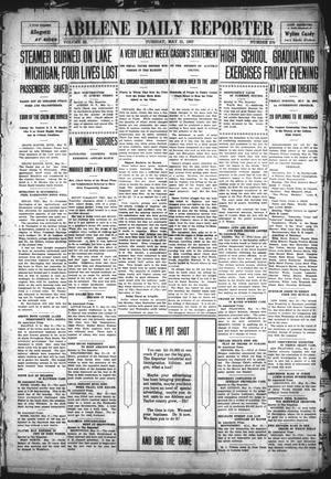 Primary view of object titled 'Abilene Daily Reporter (Abilene, Tex.), Vol. 11, No. 270, Ed. 1 Tuesday, May 21, 1907'.
