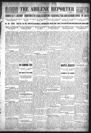 Primary view of object titled 'Abilene Daily Reporter (Abilene, Tex.), Vol. 28, No. 302, Ed. 1 Friday, June 28, 1907'.