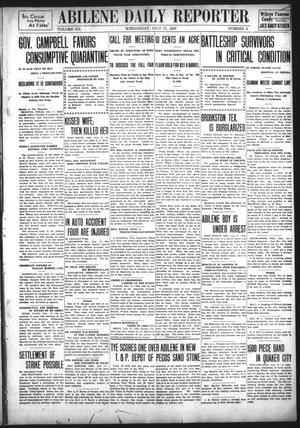 Primary view of object titled 'Abilene Daily Reporter (Abilene, Tex.), Vol. 12, No. 6, Ed. 1 Wednesday, July 17, 1907'.