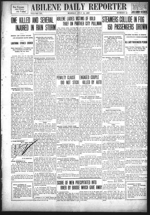 Primary view of object titled 'Abilene Daily Reporter (Abilene, Tex.), Vol. 12, No. 10, Ed. 1 Monday, July 22, 1907'.