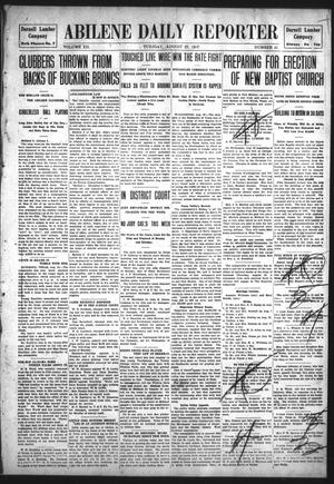 Primary view of object titled 'Abilene Daily Reporter (Abilene, Tex.), Vol. 12, No. 41, Ed. 1 Tuesday, August 27, 1907'.