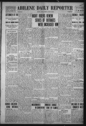 Primary view of object titled 'Abilene Daily Reporter (Abilene, Tex.), Vol. 12, No. 197, Ed. 1 Tuesday, March 10, 1908'.