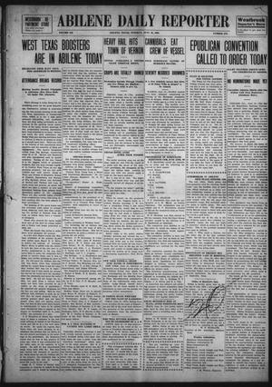 Primary view of object titled 'Abilene Daily Reporter (Abilene, Tex.), Vol. 12, No. 276, Ed. 1 Tuesday, June 16, 1908'.