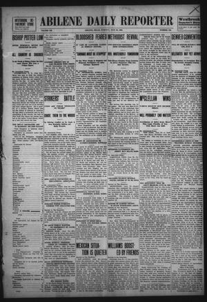 Primary view of object titled 'Abilene Daily Reporter (Abilene, Tex.), Vol. 12, No. 286, Ed. 1 Tuesday, June 30, 1908'.